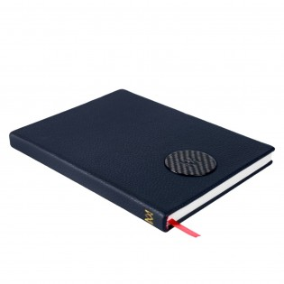 Leatherbound notebook with exclusive illustrations
