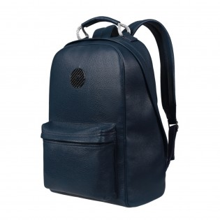 Business backpack made of the finest Italien leather
