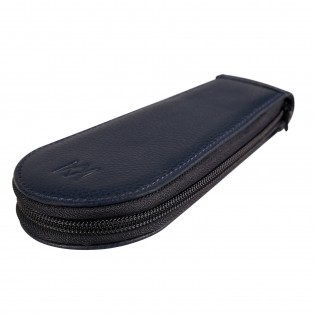 Voyageuse à stylos Geneva, leather pouch to carry your fountain pens in style