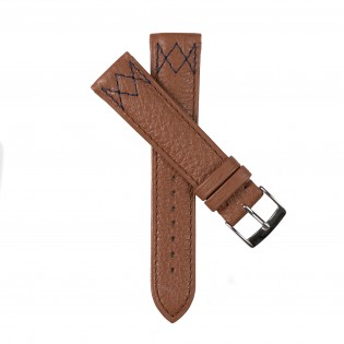Watchstrap DINARD camel brown