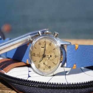 Bracelet de montre DOUARNENEZ bleu électrique