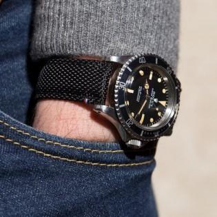 Watchstrap TAMPA black