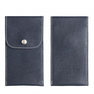 Pouch TURKU, leather pouch to transport your watch in style