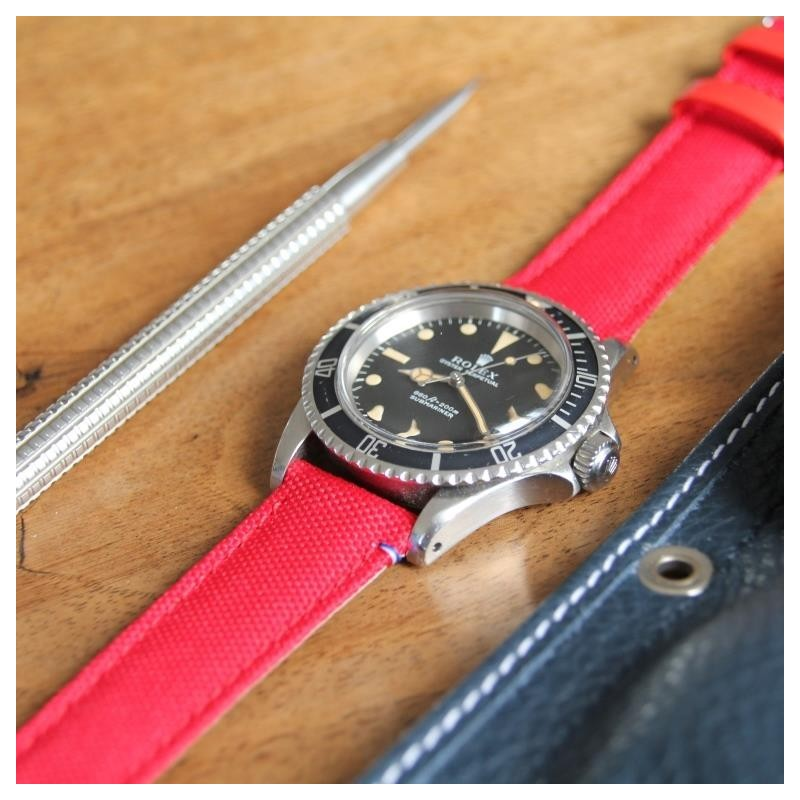 Watchstrap TAMPA red