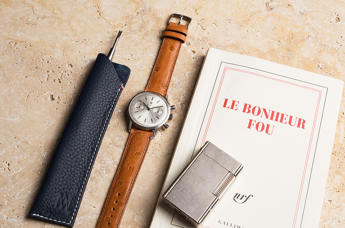 Chronographe Lip habillé par Avel & Men