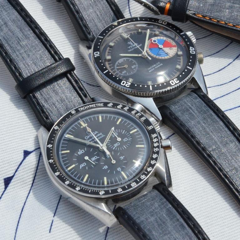 Omega speedmaster bracelet toile voile