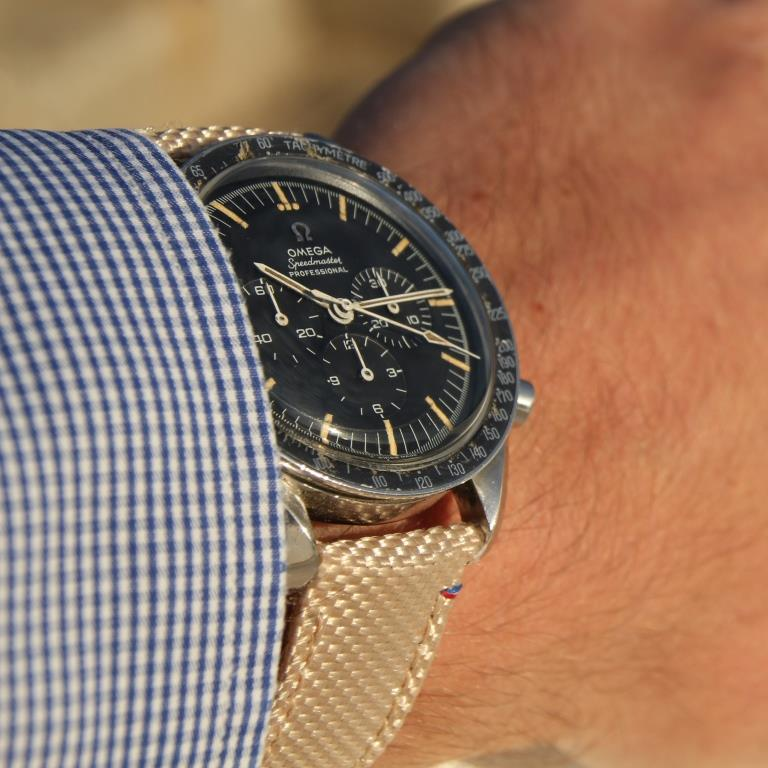 canvas strap speedmaster