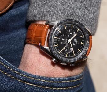 Quel bracelet pour l'Omega Speedmaster ?