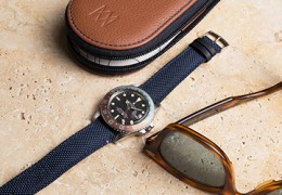Tampa watch strap in Cordura canvas: sporty and elegant