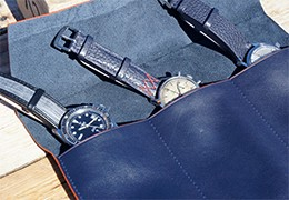Watch rolls: protect your timepieces while travelling