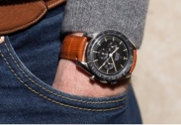 What watchstrap goes with your Omega Speedmaster ?